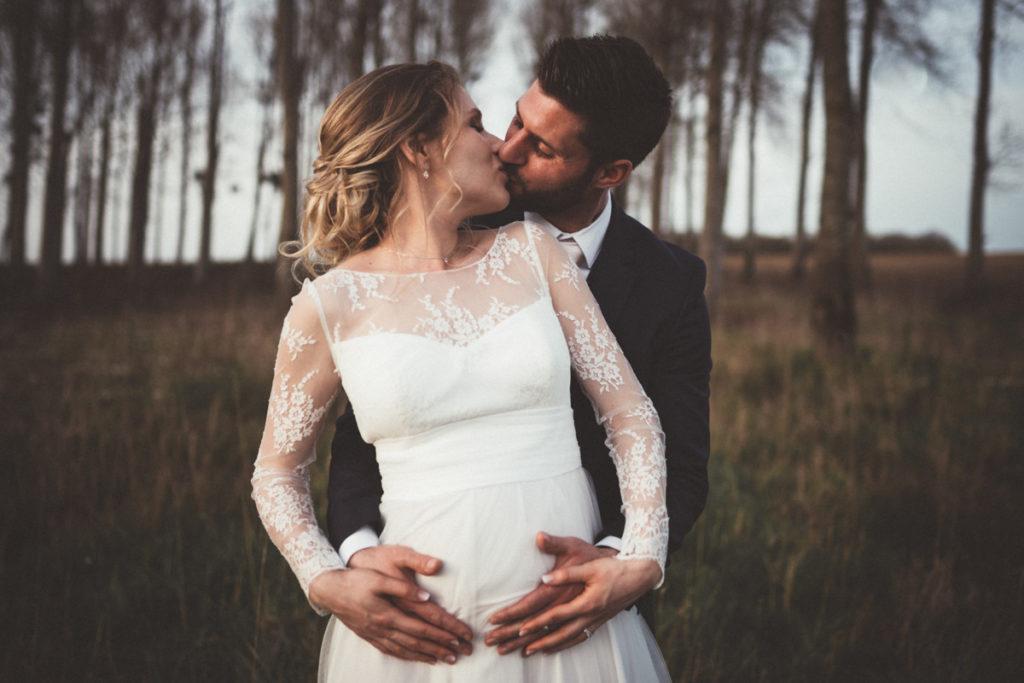 Duo photo vidéo Seine et Marne photo couple mariage seine et marne baiser