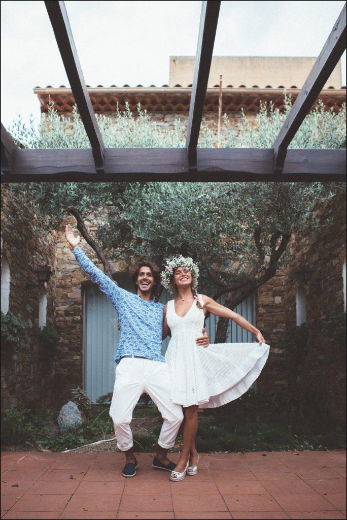 Mariage au Rayol Canadel mariés mairie rayol