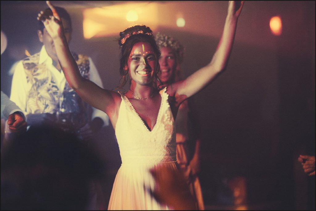 Mariage au Rayol Canadel mariée maquillage soirée