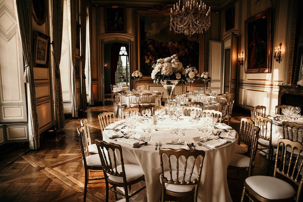 Mariage à Champlâtreux salle de réception