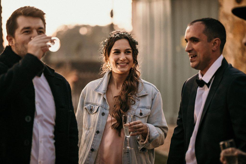 Mariage Ferme Armenon ambiance vin d'honneur mariage