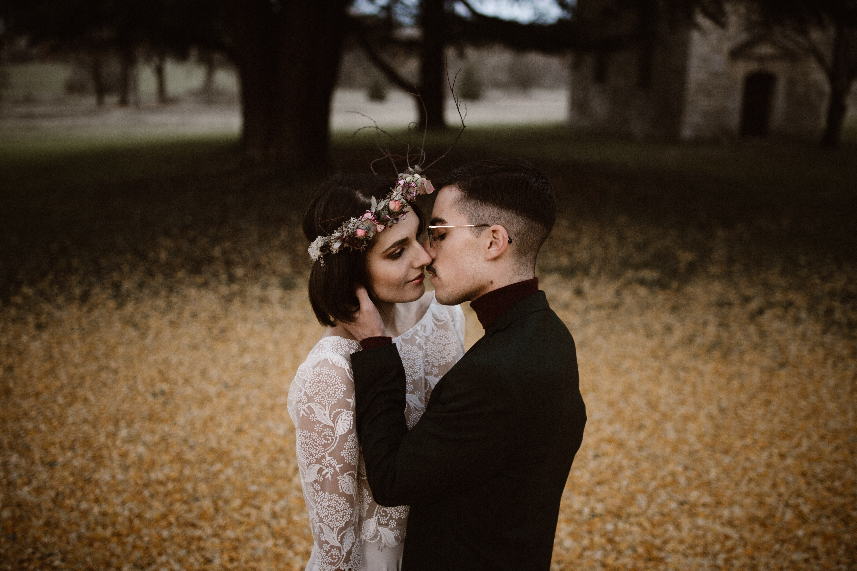photo couple mariage chateau chambly oise