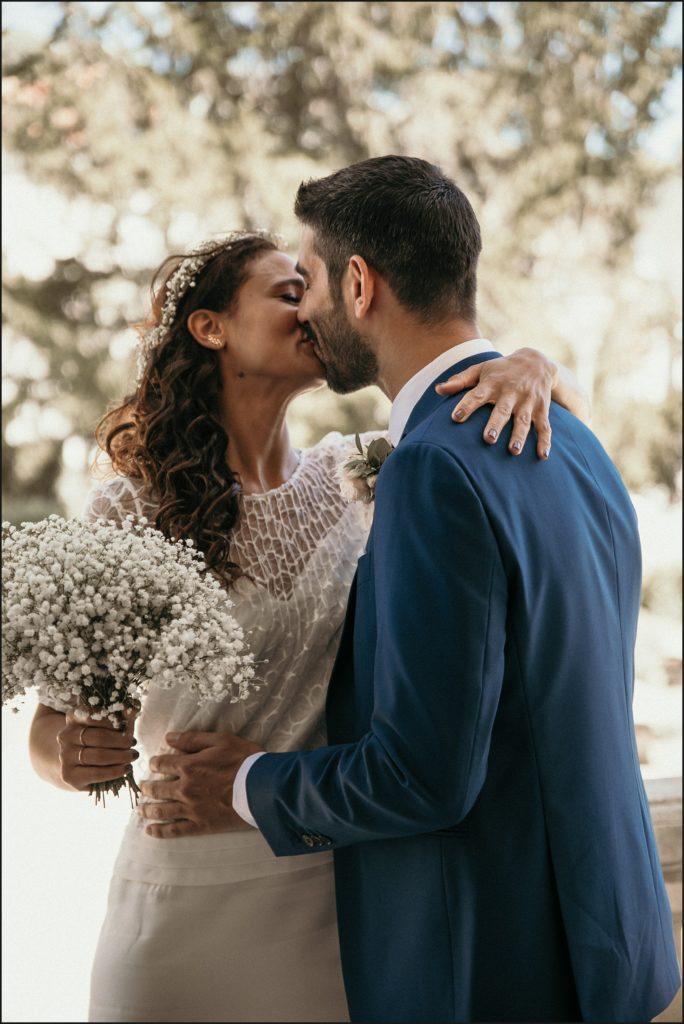 mariage à verderonne baisé mariés mairie