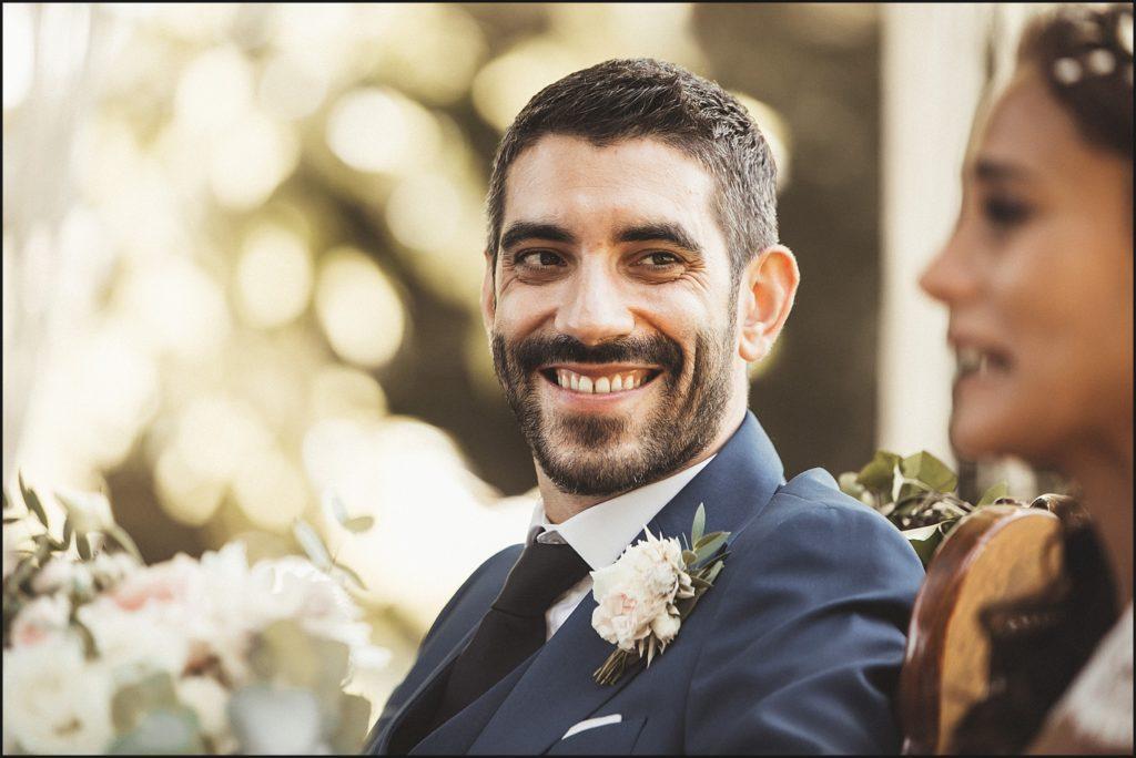 Mariage à Verderonne sourire marié cérémonie
