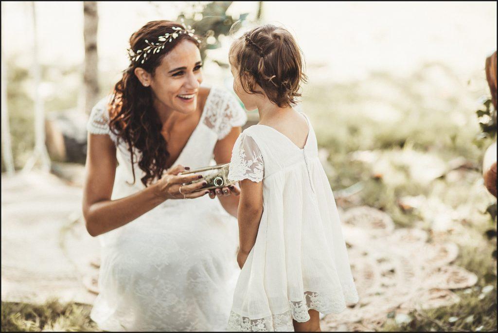 Mariage à Verderonne fille mariée avec bagues