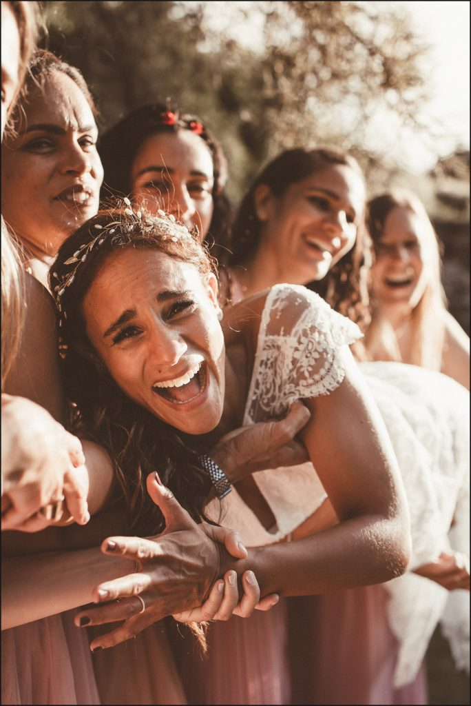 mariage verderonne fou rire photo de groupe
