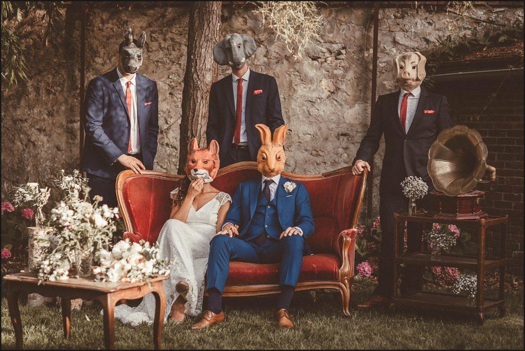 Mariage à Verderonne photo de groupe fun