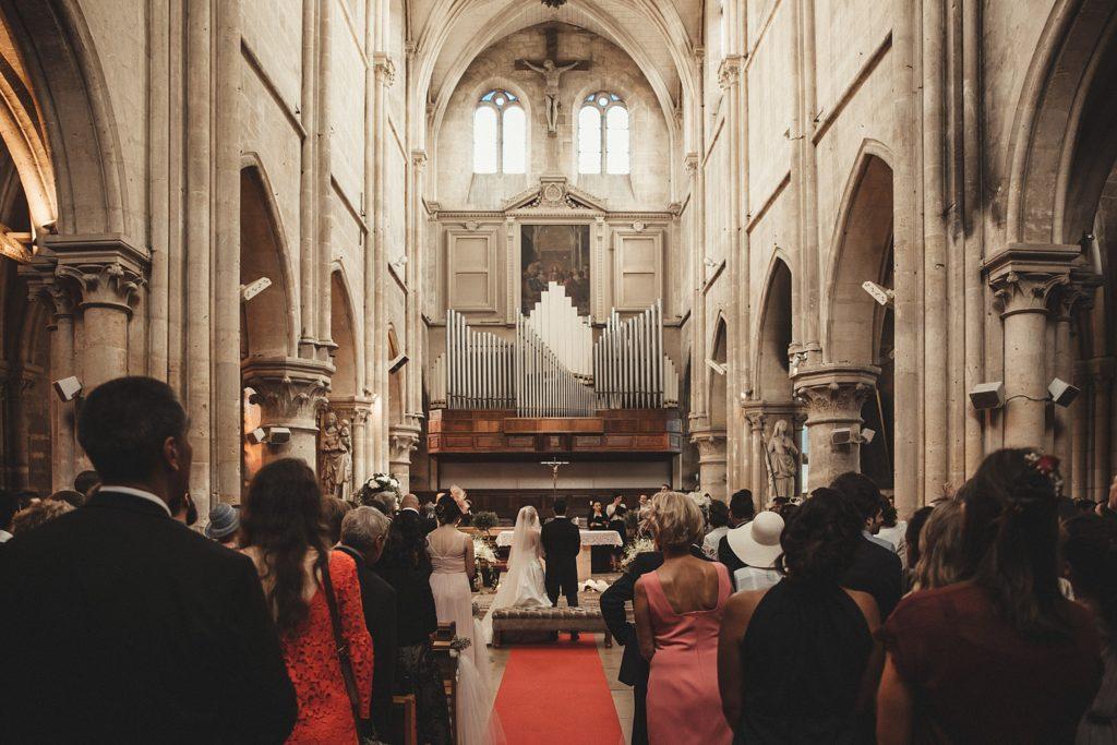 Mariage à Champlâtreux orgue eglise gouvieux