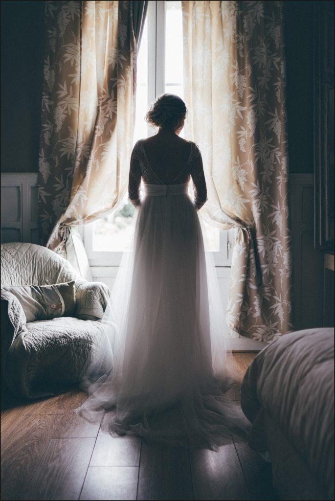 photographe mariage paris robe marie laporte