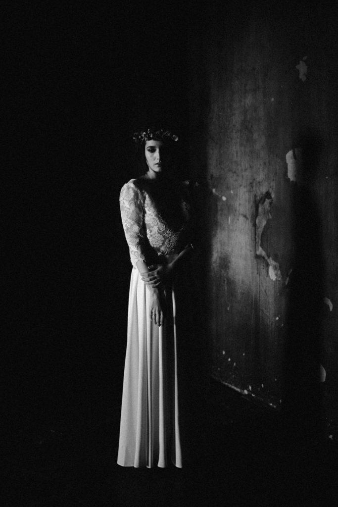 Mariage Moody photographe moody paris noir et blanc