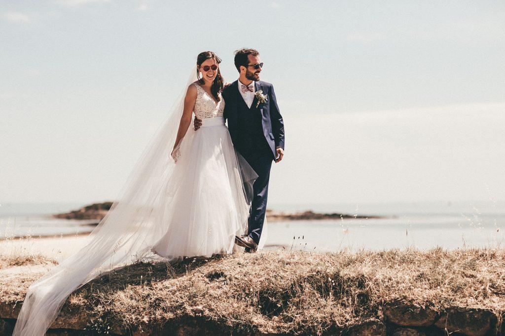 Photographe Mariage Bretagne photo mariage plage du men du