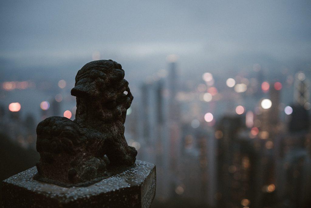 5 jours à Hong Kong city view by night