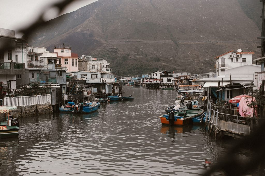 5 jours à Hong Kong lantau port de peche