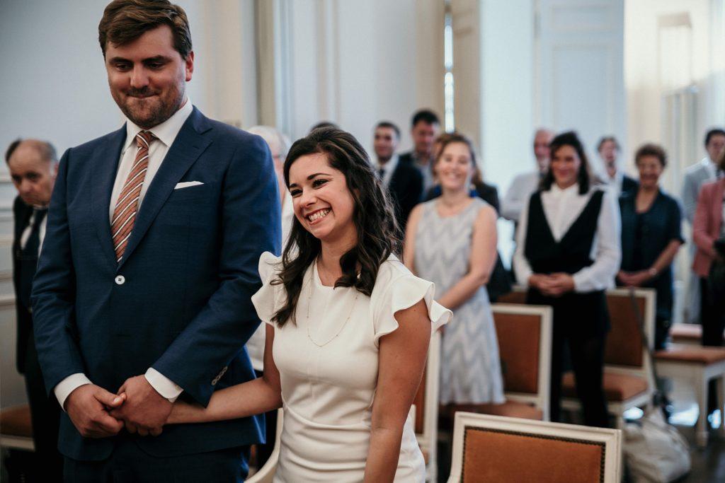 Mariage Rooftop Paris mariés sourires garches
