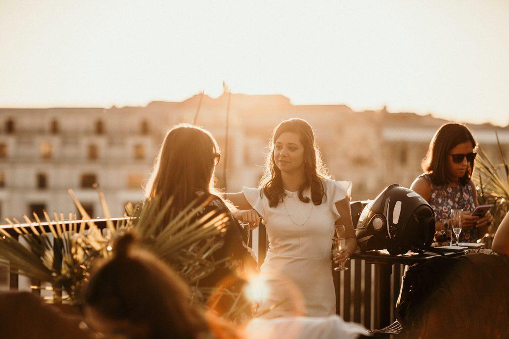 Photographe Mariage Paris photo réception mariage rooftop paris