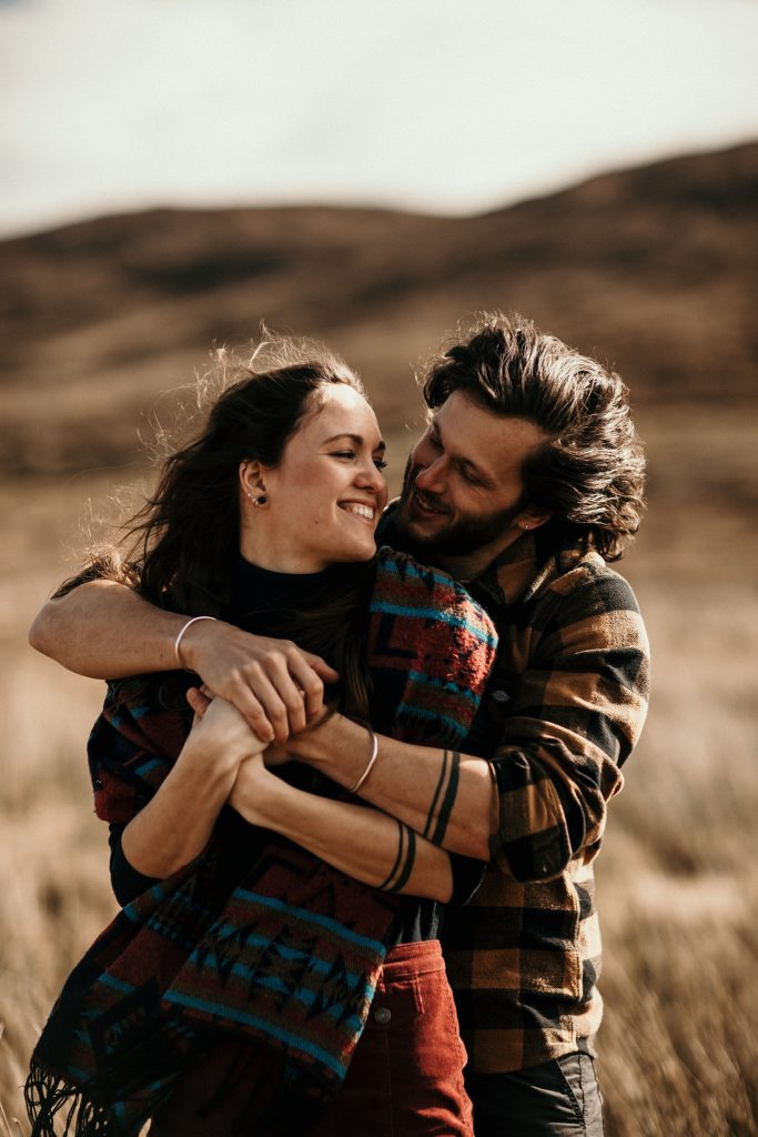 Wedding photographer Scotland love session isle of skye