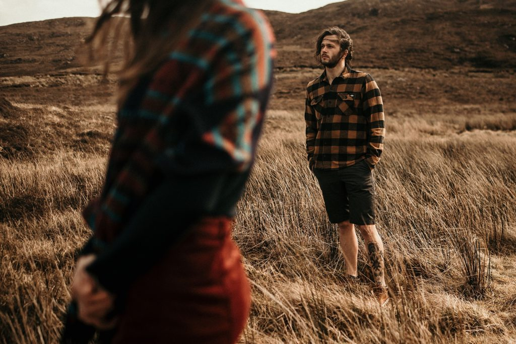 Couple Session on Isle of Skye cool pictures of elopement wedding