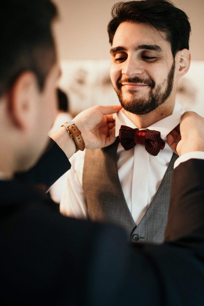 Photographe Mariage Yvelines préparatifs marié plessis robinson