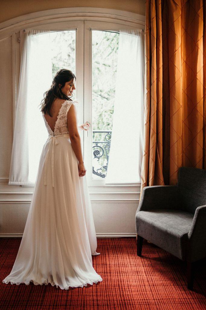 Photographe Mariage Yvelines robe de mariée