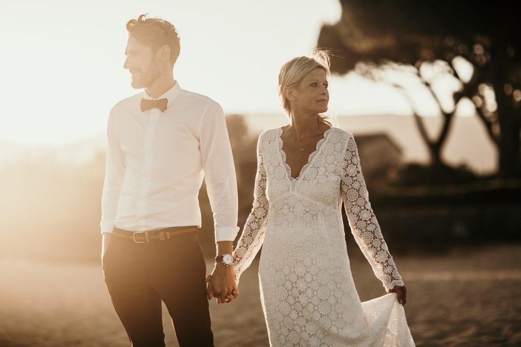 Un mariage à la plage photographe mariage provence