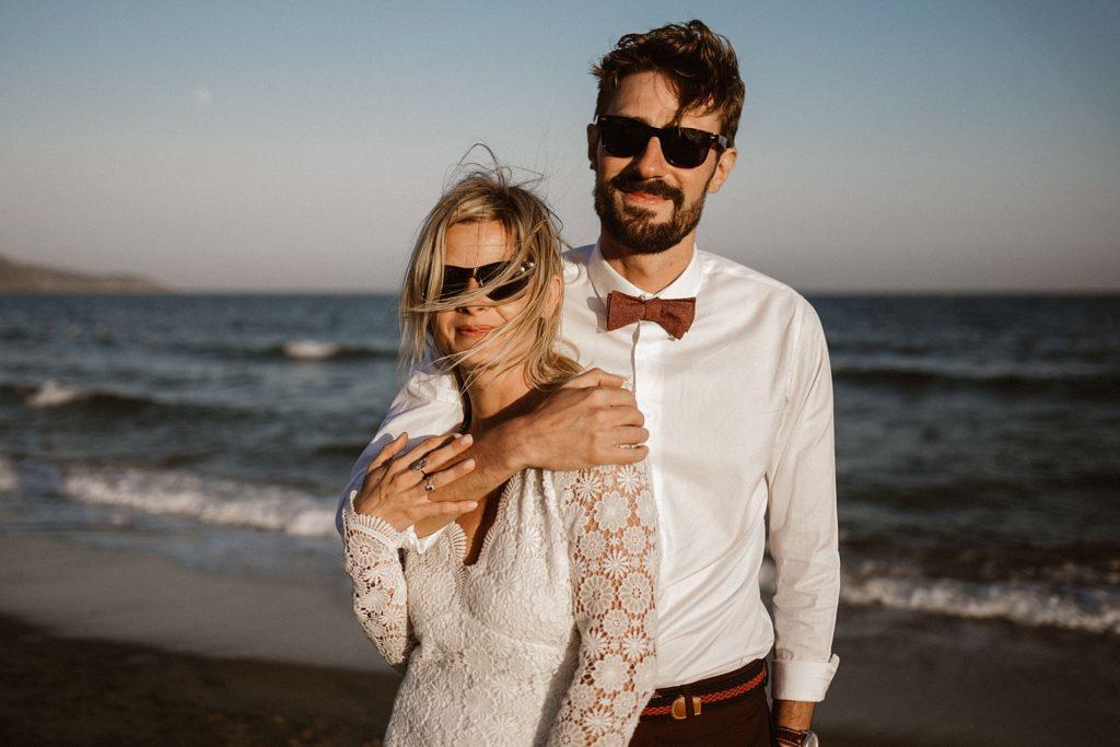 Un mariage à la plage photographe mariage PACA