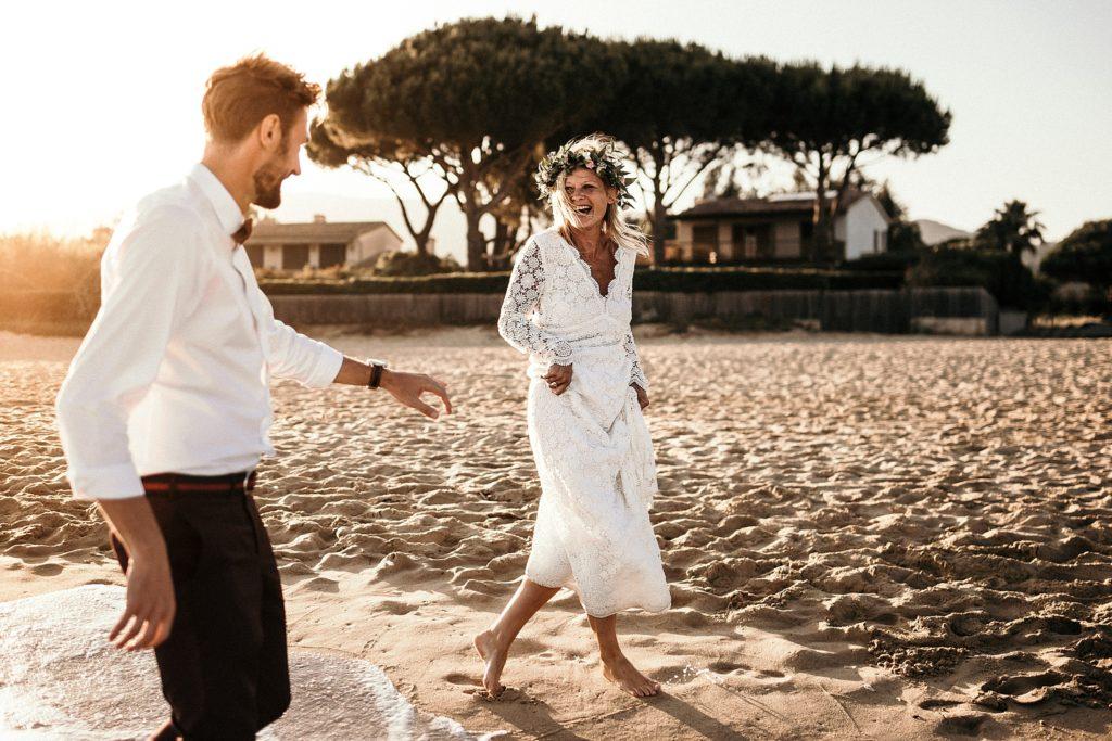 Un mariage à la plage photographe mariage var