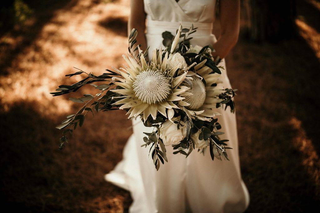 mariage bormes mimosas bouquet de mariée original