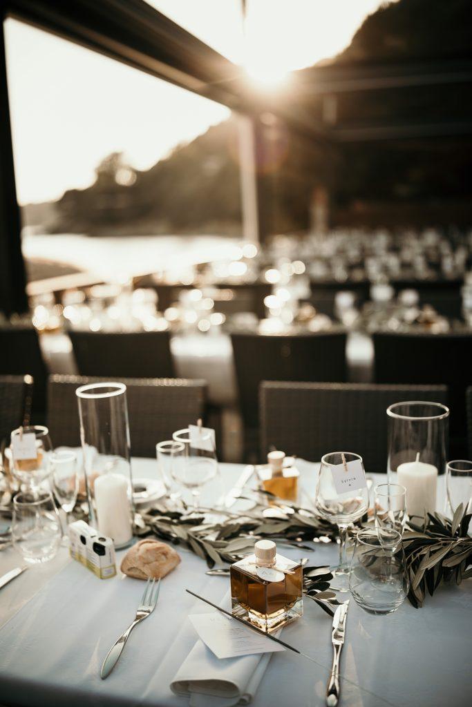 Photographe Mariage Lavandou table du c beach coucher soleil