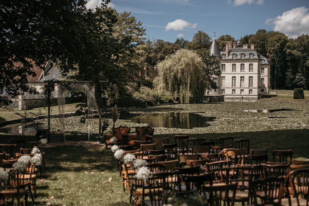 Lieux de mariage autour de Paris cérémonie laïque photographe mariage Oise