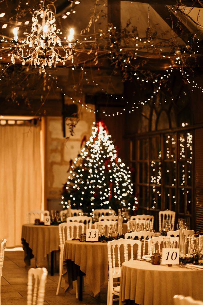 Lieux de mariage autour de Paris mariage a Noel