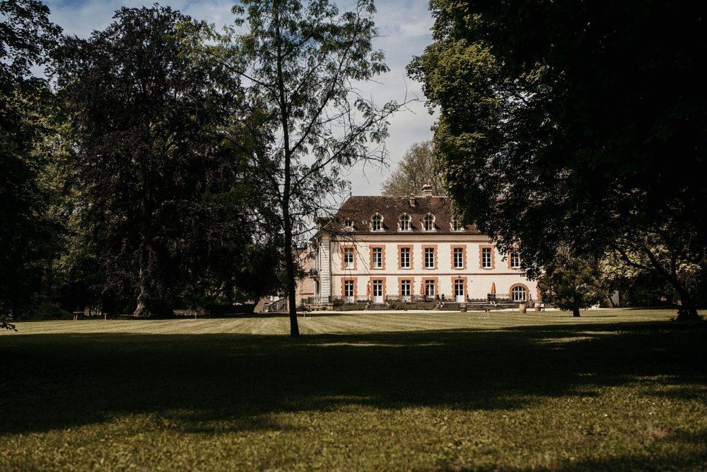 lieux de mariage autour de Paris domaine vauluisant parc