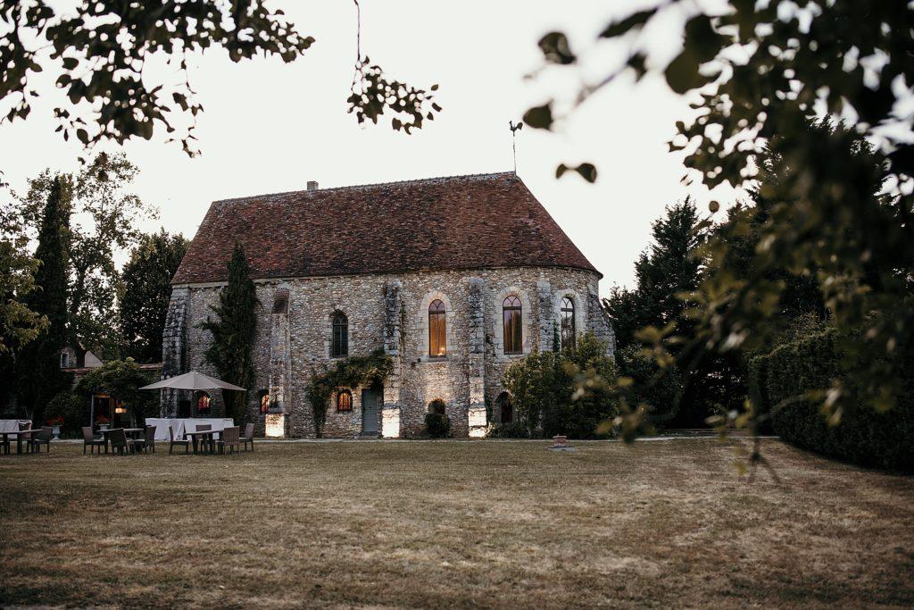 Lieux de mariage autour de Paris prieuré Vernelle