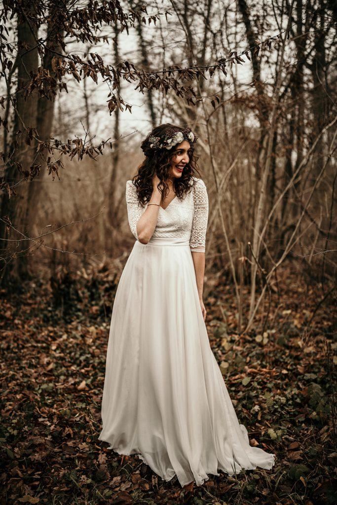 Se marier en hiver robe Alba Paris