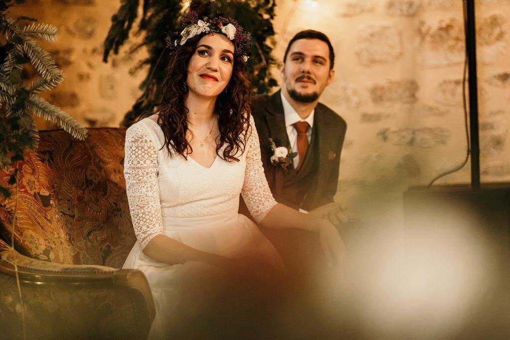 Se marier en hiver mariage en intérieur