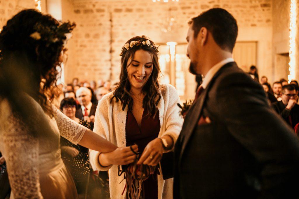 Se marier en hiver cérémonie laïque intérieur