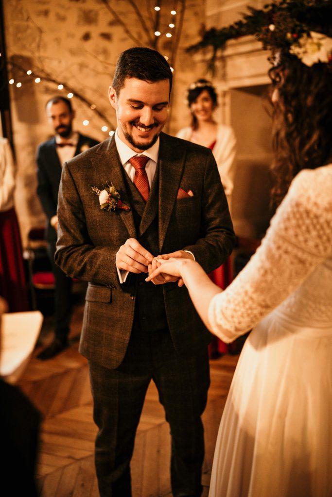 Se marier en hiver passage alliance mariage