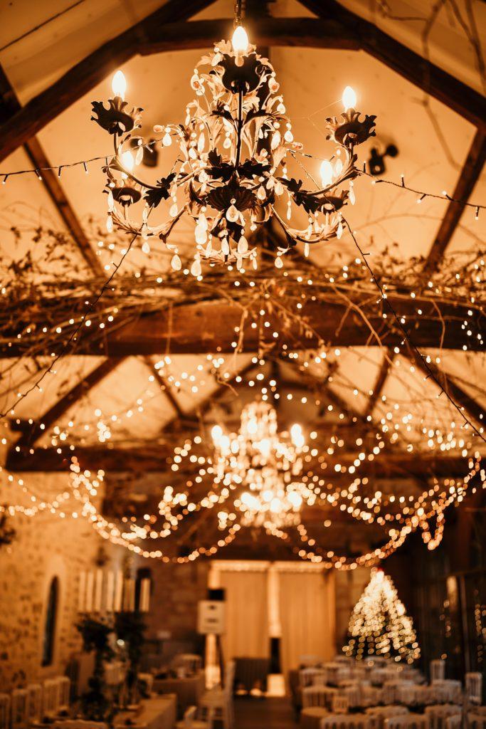 Se marier en hiver déco lumineuse mariage