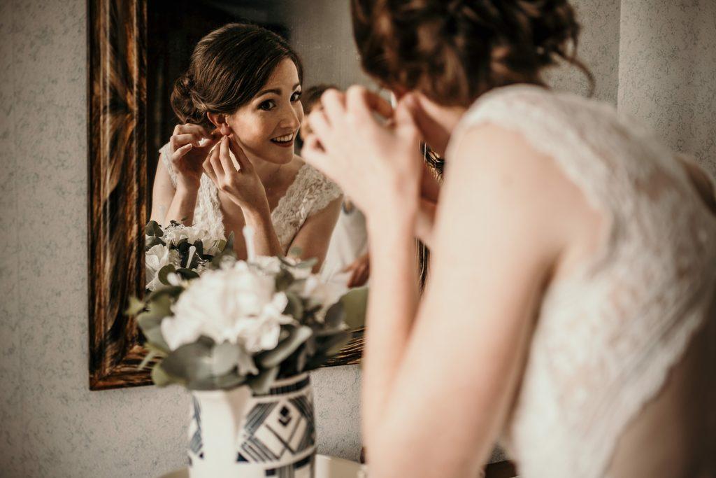 Conseils pour les préparatifs de la mariée boucle d'oreille mariage