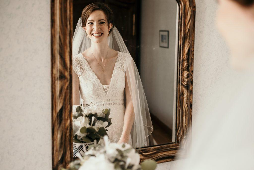 Photographe Mariage Saint Malo mariée robe pronovias