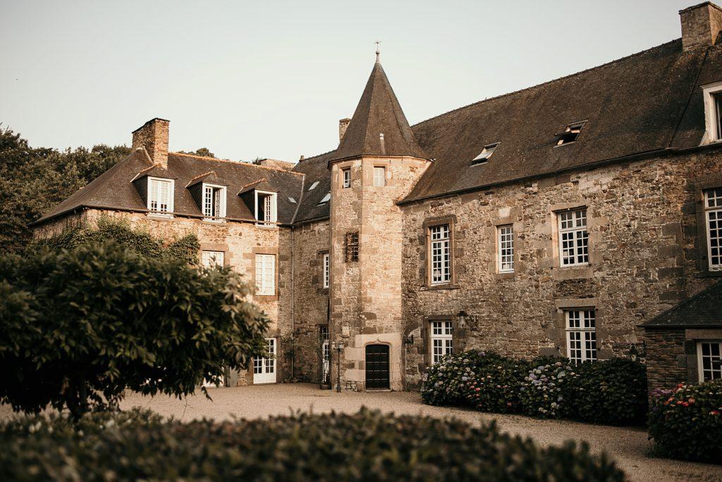 Photographe Mariage Saint Malo chateau de la motte beaumanoir