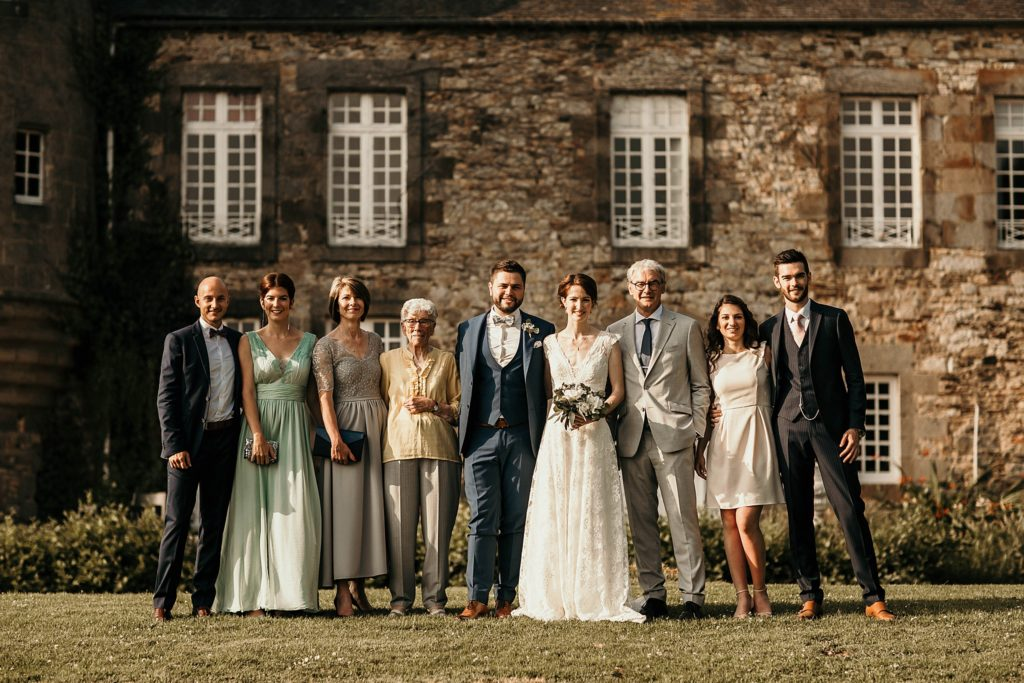 Photographe Mariage Saint Malo photo de groupe mariage