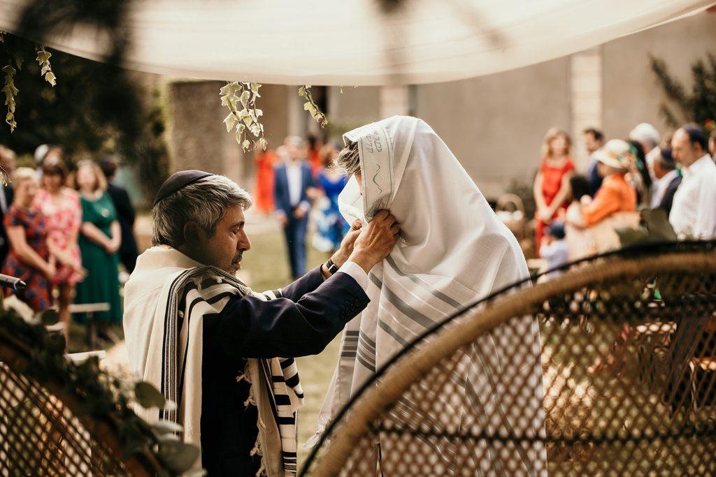Cérémonie en extérieur photographe mariage juif France