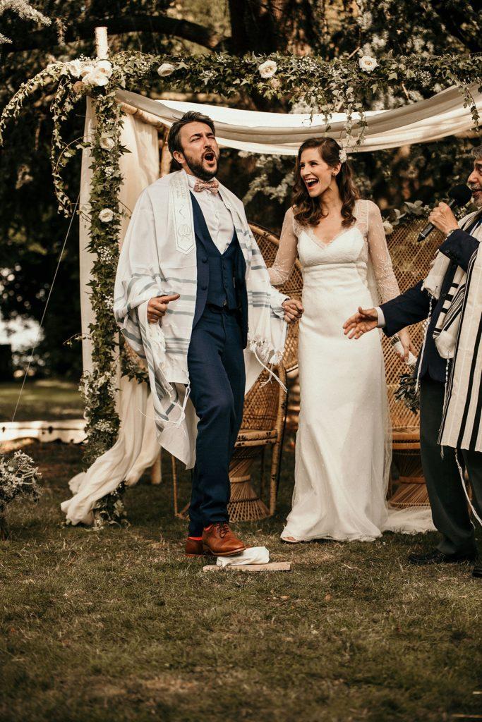 Cérémonie en extérieur tradition mariage