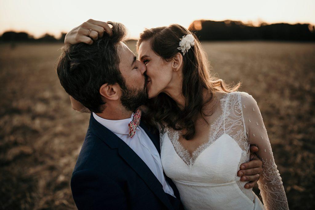 Cérémonie en extérieur séance photo de mariage