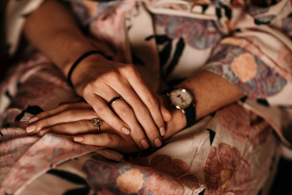 Mariage à la Bergerie de Vaujoly manucure mariage