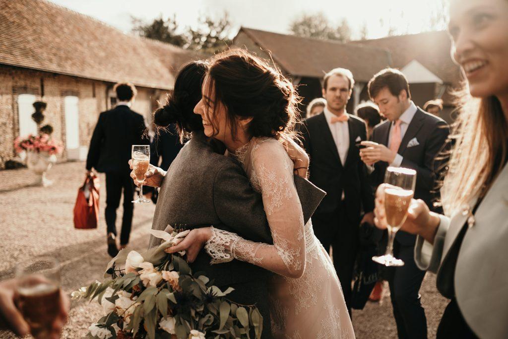 Mariage à la Bergerie de Vaujoly photographe mariage heureux